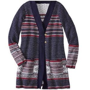 Hanna Andersson Nordic Sweater Tunic Buttons